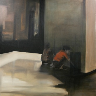 conversation 2 | oil on canvas