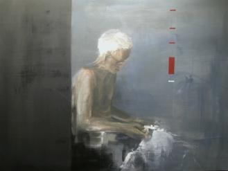 conversation 1 | oil on canvas