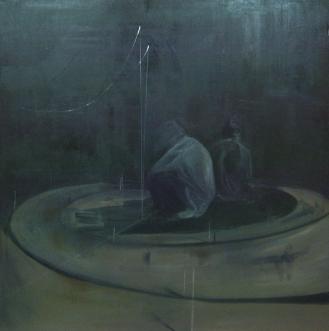 downward spiral | oil on canvas