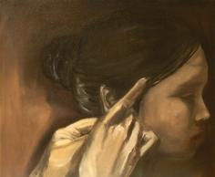 preparation 2   oil on canvas
