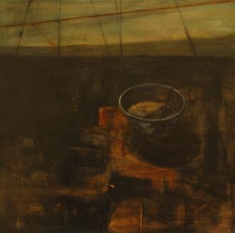empty | oil on canvas