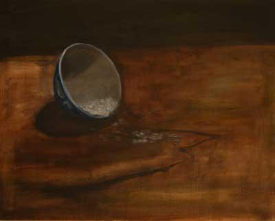 landslide | oil on canvas