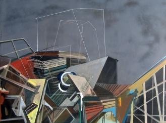 collision | oil on canvas