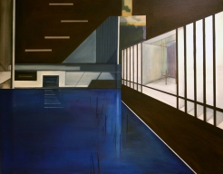 meetingplace | oil on canvas