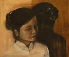 mirror image   oil on canvas