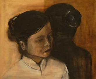 mirror image | oil on canvas