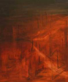 red soil | oil on canvas